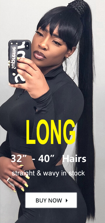 super long hair