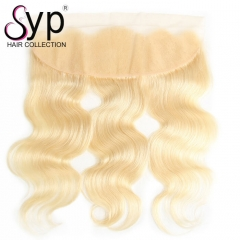 Platinum Blonde Lace Frontal Closure 613 Brazilian Body Wave Hair