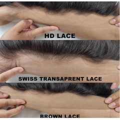 HD Illusion Lace Frontal Wholesale 13x4 Best Wet And Wavy Human Hair
