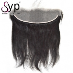 Customized Transparent Lace Frontal Closure 13x4 Straight Hair