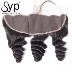 Cheap Human Hair Lace Frontal Pieces 13x4 Malaysian Loose Wave