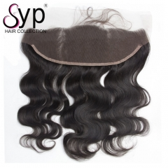 Cheap Brazilian Lace Frontal Closure With Baby Hair Body Wave