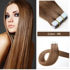 Custom Best 40 Piece Tape In Hair Extensions Brand For All Colors