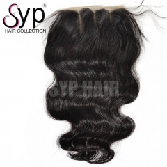 Body Wave Silk Base Closure 5x5 Wholesale Human Hair Best Quality
