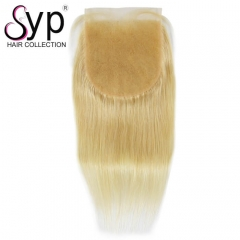 6x6 Lace Closure 613 Straight Russian Blonde Hair Vendor