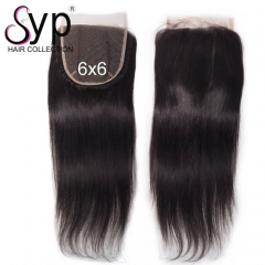 6x6 Swiss Lace Closure Frontal Straight Hair Freestyle Part
