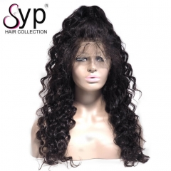 180 Density Peruvian Full Lace Wigs Wet And Wavy Human Hair In Stock