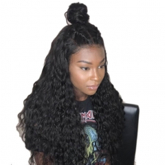 Swiss Cheap Full Lace Wigs For Sale Deep Wave Top Quality Hair