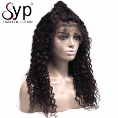 Loose Deep Wave Full Lace Wig Human Hair High Density For Black Ladies
