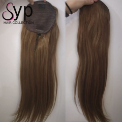 Colored Drawstring Ponytail Hair Extensions For All Hair Colors