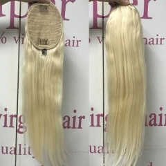 Long Blonde Hair Ponytail Extension 613 Straight Hairstyles