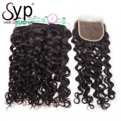 3 Part Closure With Bundles Of Brazilian Italian Curly Hair