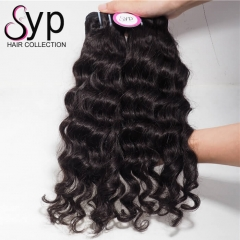 Wet And Wavy Real Brazilian Human Hair Bundles With Frontal