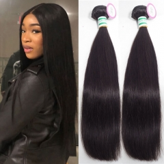 Real Virgin Brazilian Straight Human Hair Extensions Wholesale