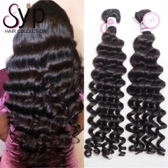 Peruvian Natural Wave Wholesale Human Hair Weave Bundles for Sew In