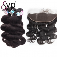 Malaysian Body Wave Full Sew In With Lace Frontal Closure Hair Store