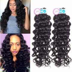 Cuticle Virgin Hair Malaysian Italian Curly Real Human Hair Bundles