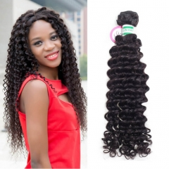 1 Bundle Curly Hair Cuticle Aligned Brazilian Weave Manufacturer