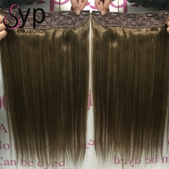 Best Flip In Hair Extensions Human Hair For Short Hair Near Me